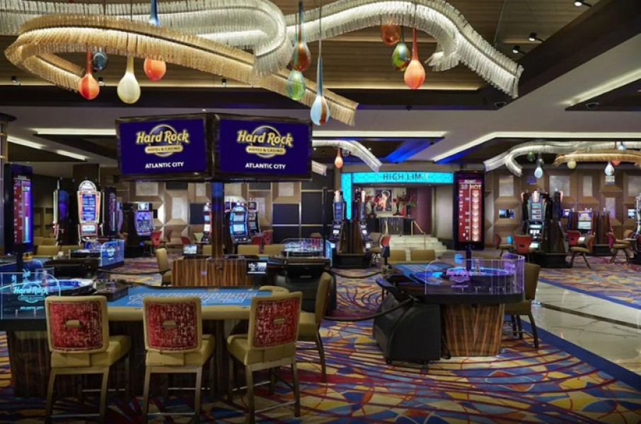 Hard Rock Atlantic City Slot Machine
