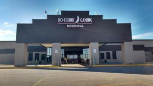 NEKOOSA WI Casino CHIP 50 Cents Brown Ho Chunk Gaming Blackjack RAINBOW CASINO