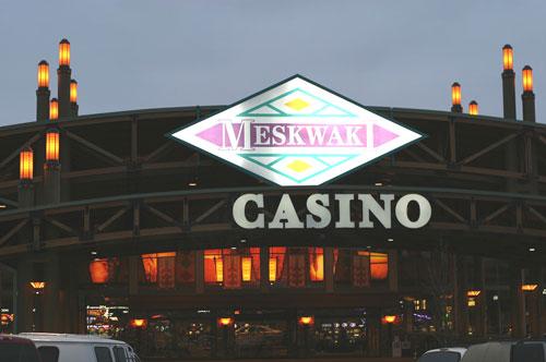 meskwaki sports betting