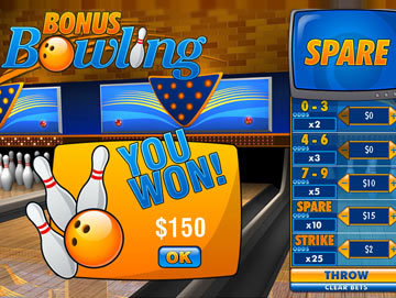 Play Bonus Bowling Arcade Games Online at Casino.com Australia