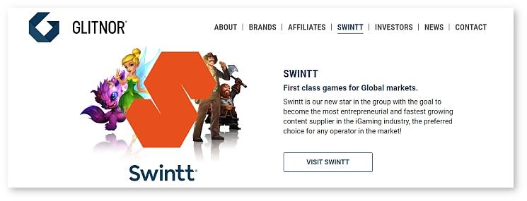 Glitnor, parent company of Swintt