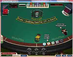 Caribbean Draw Poker By Realtime Gaming
